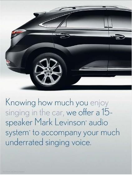 lexus singing voice
